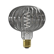 CALEX Pulse Metz 4W 70lm Globe Warm white LED Dimmable Filament Light bulb
