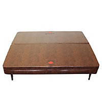 Canadian Spa Brown Cover 2.33m 2.33m