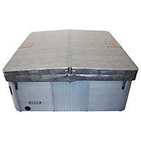 Canadian Spa Grey Cover 2.08m 2.08m