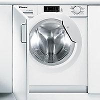 Candy CBWD 8514D-80 White Built-in Condenser Washer dryer, 8kg/5kg