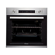 Candy FCP602X E0/E Black Built-in Electric Single Oven
