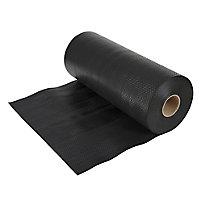 Capital Valley Plastics Ltd Black 500 Micron Damp proof course, (L)30m (W)450mm