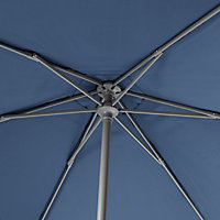Carambole 1.92m Abyss blue Standing parasol
