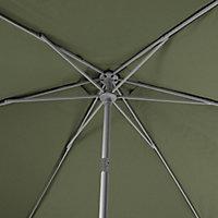 Carambole 2.7m Kaki green Standing parasol