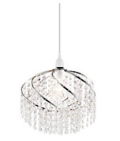 Carbuccia Clear Beaded Light shade (D)300mm