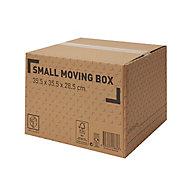 Cardboard Moving box (H)285mm (L)355mm (W)355mm