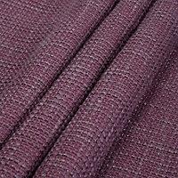 Carina Blueberry & purple Plain Lined Eyelet Curtains (W)228cm (L)228cm, Pair