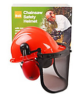 CH011 Chainsaw helmet with Ear defenders & visor