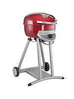 Charbroil Red Patio Bistro 240 1 Burner Gas Barbecue