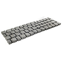 Charcoal Carpet stone 0.5m², Pack of 30