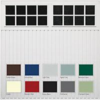 Chicago Made to measure Framed Retractable Glazed Garage door