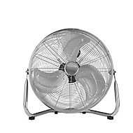 "Chrome effect 18"" 110W Cold Industrial fan"