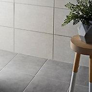 Cimenti Grey Matt Concrete effect Porcelain Floor Tile Sample