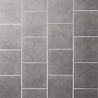 Cimenti Grey Matt Concrete effect Porcelain Floor Tile Sample