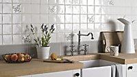 City chic Taupe Matt Plain Stone effect Ceramic Wall tile, (L)400mm (W)150mm, Sample