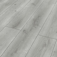 Classen Grey Oak effect Laminate flooring, 1.97m² Pack
