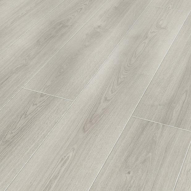 Classen Milano Grey Oak Effect Laminate, Kitchen Laminate Flooring B Q
