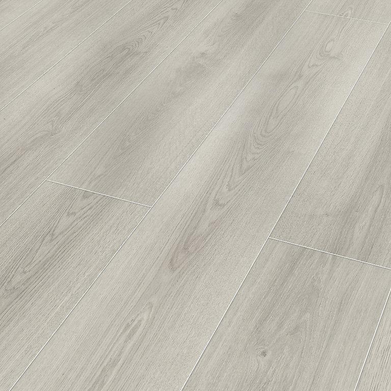 Classen Milano Grey Oak Effect Laminate, Light Grey Oak Effect Laminate Flooring