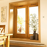Clear Glazed External Patio door, (H)2100mm (W)1200mm