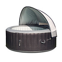 CleverSpa Grey Plastic Dome