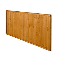 Closeboard Fence panel (W)1.83m (H)0.91m, Pack of 3