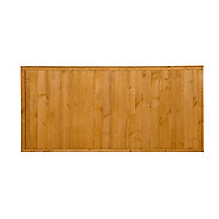 Closeboard Fence panel (W)1.83m (H)0.91m, Pack of 4