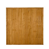 Closeboard Fence panel (W)1.83m (H)1.83m, Pack of 3