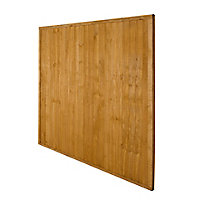 Closeboard Fence panel (W)1.83m (H)1.83m, Pack of 4