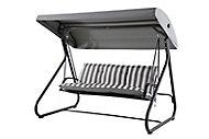 Colorado Grey Metal Gravity chair