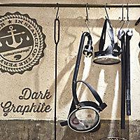 colourcourage Dark graphite Matt Emulsion paint 2.5