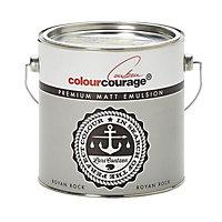 colourcourage Royan rock Matt Emulsion paint 2.5