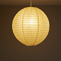 Colours Abiola Apricot Ball Light shade (D)400mm