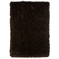 Colours Avalyon Brown Rug (L)2.3m (W)1.6m