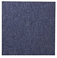 Colours Blue Loop Carpet tile, (L)500mm, Pack of 10