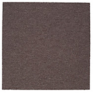 Colours Brown Loop Carpet tile, (L)500mm