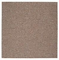Colours Clove Carpet tile, (L)500mm