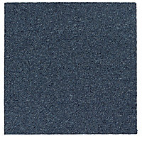Colours Cornflower Carpet tile, (L)50cm
