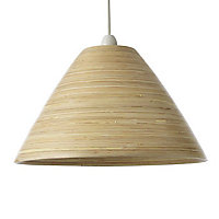 Colours Cruse Natural Bamboo Light shade (D)350mm