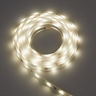 Colours Driggs Mains-powered LED White Strip light IP20 400lm (L)1m