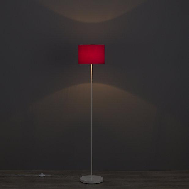 Colours Fairbank Fuchsia Plain Light, Small Fuschia Lamp Shade
