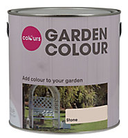 Colours Garden Stone Matt Wood paint, 2.5L