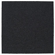 Colours Graphite Loop Carpet tile, (L)500mm