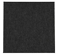Colours Grey Loop Carpet tile, (L)500mm, Pack of 10