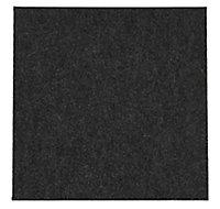 Colours Grey Loop Carpet tile, (L)500mm, Pack of 10