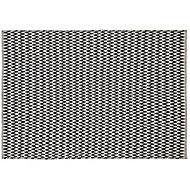 Colours Haillie Geometric Black & white Rug (L)2.3m (W)1.6m