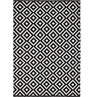 Colours Harrieta Geometric Black & white Rug (L)2.3m (W)1.6m