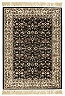 Colours Helina Persian Beige & black Rug (L)1.7m (W)1.2m