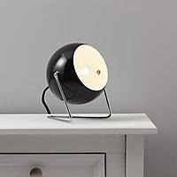 Colours Lodge Black Incandescent Table lamp