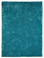 Colours Luino Teal Rug (L)1.6m (W)1.2m