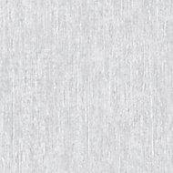 Colours Mirabelle Sari Silver effect Textured Wallpaper
